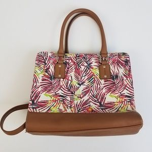 Nine West multicolor palm purse